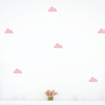 Felhő falmatrica | púder