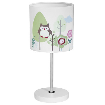 Gyerek asztali lámpa – bagoly