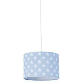 Gyerek mennyezeti lámpa – kék csillag