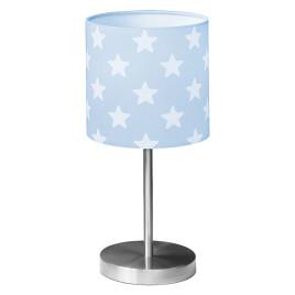 Gyerek asztali lámpa – kék csillag