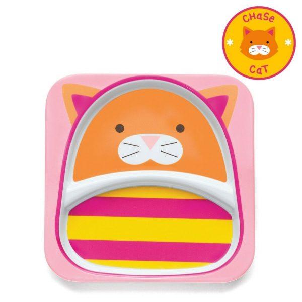 skiphop-zoo-little-kid-tableware-cat-plate_3