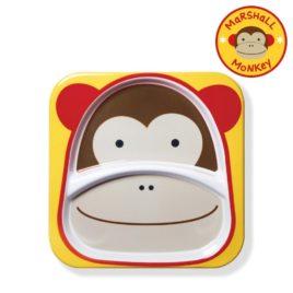 Nagy tányér – majom