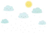 felhőgyerekek falmatrica