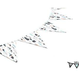 Indián tollak zászló girland