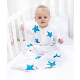 Alvózsák -kék csillagos